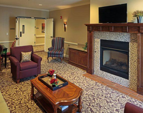 Hoffmann Hospice Home Lounge