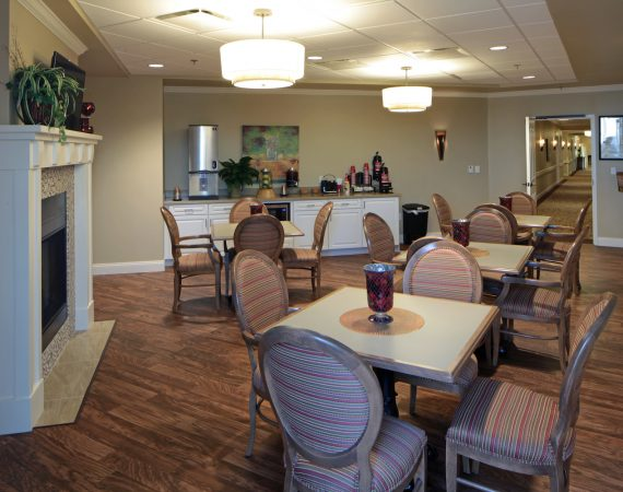 Hoffmann Hospice Home Dinning Room