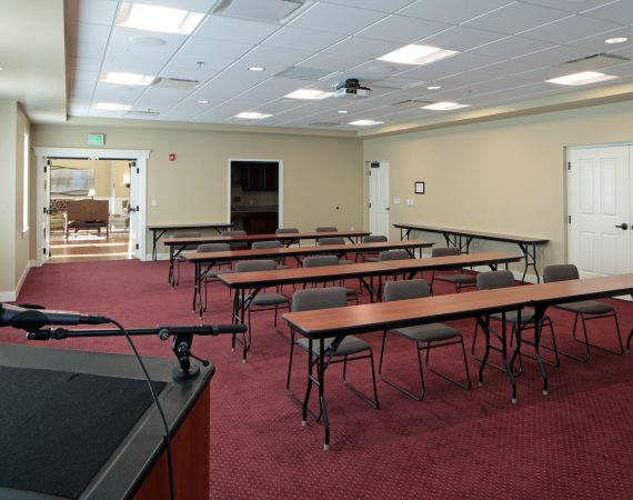 Hoffmann Hospice Home Conference Room