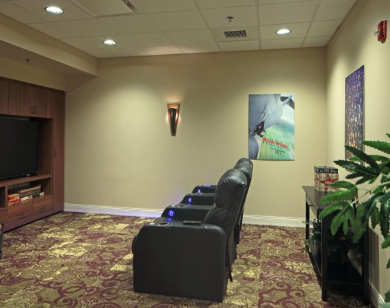 Hoffmann Hospice Home Theater