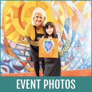 Holiday Heart Art Camp